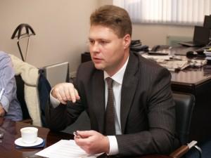 Управляющий филиалом ВТБ в г. Хабаровске Евгений Орлов